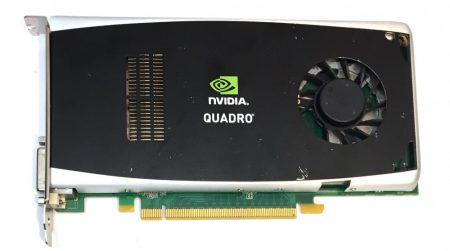 nVidia Quadro FX 1800 768Mb GDDR3 192bit használt videokártya CUDA OpenGL Shader Model