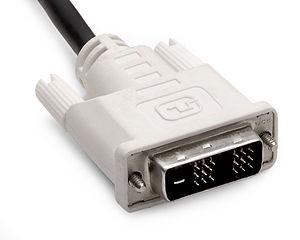DVI - DVI digitális monitor kábel 1,8m (Új)