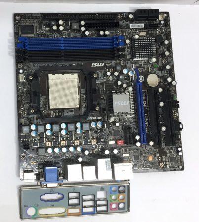 MSI 785GM-e51 AMD 790X AM3 használt alaplap HDMI DDR3
