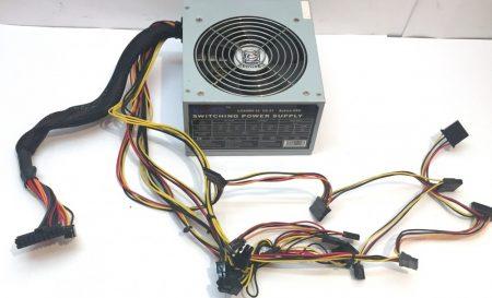 LC Power 600W LC600H-12 használt tápegység PC TÁP 12cm