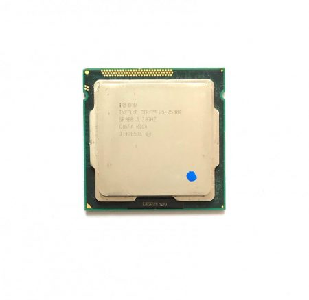 Intel Core i5-2500k 3,70Ghz használt Quad processzor CPU LGA1155 6Mb cache 2. gen. SR008