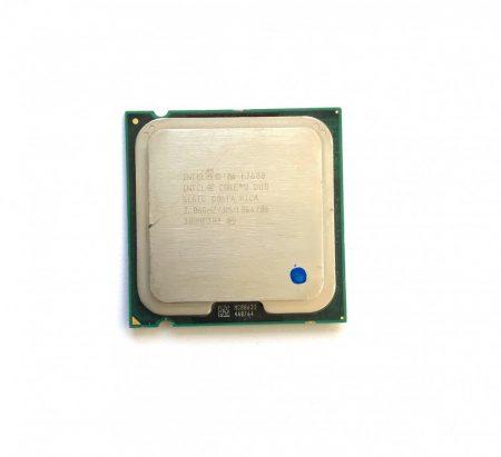 Intel Core 2 Duo E7600 3,06Ghz használt processzor CPU LGA775 1066Mhz FSB 3Mb L2 SLGTD