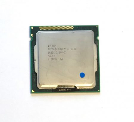 Intel Core i3-2100 3,10Ghz használt processzor CPU LGA1155 3Mb cache  2. gen. SR05C