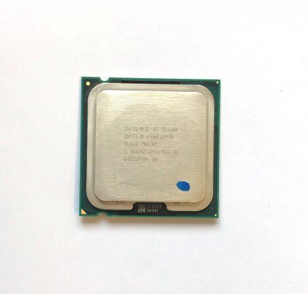 Intel Pentium Dual-Core E6600 3,06Ghz használt processzor CPU LGA775 1066Mhz FSB 2Mb Cache SLGUG