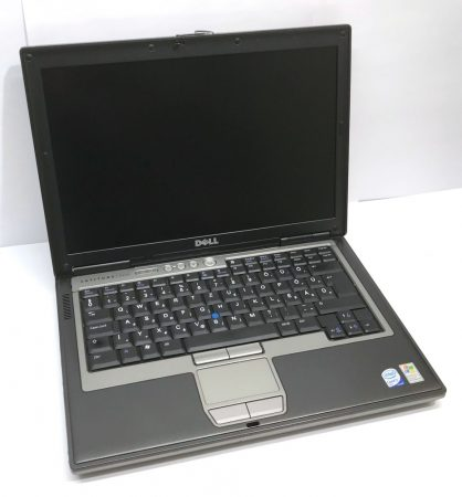 "Dell Latitude D630 14"" használt laptop 2 magos T7300 2.00Ghz 250Gb 4Gb DDR2 wifi soros port"