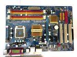 Gigabyte GA-EP31-DS3L rev 1.0 LGA775 használt alaplap DDR2 P31 4db PCI-e