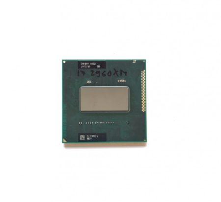 Intel Core i7-2960XM Extreme Edition használt Quad laptop CPU processzor 3,70Ghz G2 2. gen. SR02F 8Mb Cache