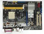 Asus M2N-e SLI AMD AM2+ AM2 használt alaplap DDR2