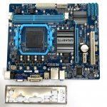 Gigabyte GA-78LMT-S2P AMD AM3 AM3+ használt alaplap 760G DDR3 VGA PCI-e