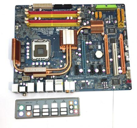 Gigabyte GA-EP45-DS4 LGA775 használt alaplap DDR2 PCI-e P45 Express Chipset