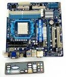 Gigabyte GA-880GM-UD2H AMD AM3 használt alaplap DDR3 HDMI PCI-e