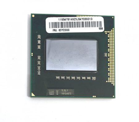 Intel Core i7-720QM használt Quad Core laptop CPU processzor 2,8Ghz G1 1. gen. SLBLY