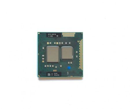Intel Core i5-520M használt laptop CPU processzor 2,93Ghz G1 1. gen 3Mb Cache SLBNB SLBU3