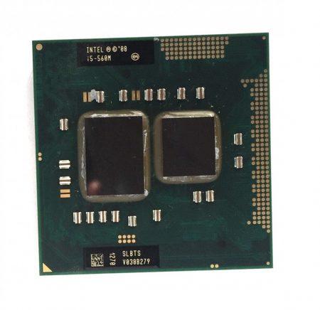 Intel Core i5-560M használt laptop CPU processzor 3,20Ghz G1 1. generáció SLBTS