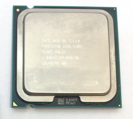 Intel Pentium Dual-Core E2160 1,80Ghz használt processzor CPU LGA775 800Mhz FSB 1Mb Cache SLA8Z SLA3H
