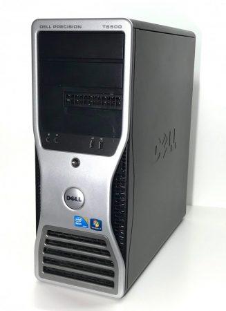 Dell Precision T5500 Worksation használt számítógép Xeon X5550 Quad 3,06Ghz 12Gb DDR3 500Gb HDD + nvidia Quadro FX 1800 768Mb