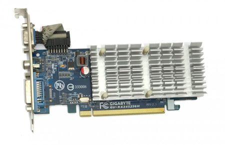 Gigabyte AMD ATI Radeon HD 3450 256Mb PCI-e használt videokártya