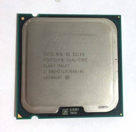 Intel Pentium Dual-Core E2180 2,00Ghz használt processzor CPU LGA775 800Mhz FSB 1Mb Cache SLA8Y
