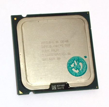 Intel Core 2 Duo E8500 3,16Ghz kétmagos Processzor CPU LGA775 1333Mhz FSB 6Mb L2 SLB9K