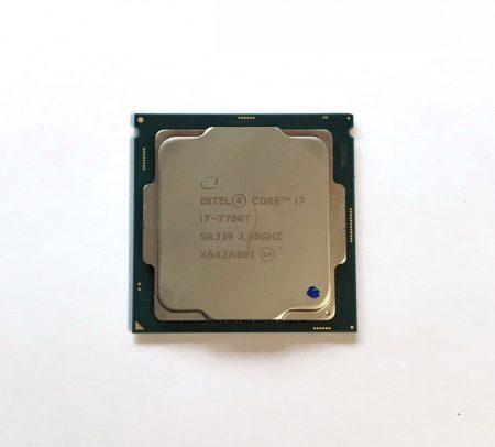Intel Core i7-7700T 3,80Ghz használt processzor CPU LGA1151 35W TDP SR339 8Mb cache 7. gen.