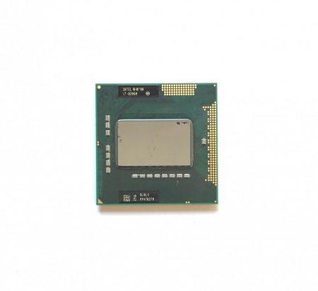 Intel Core i7-820QM használt Quad Core laptop CPU processzor 3,06Ghz G1 1. gen. SLBLX 1év garancia