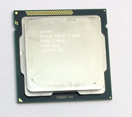 Intel Core i7-2600 3,80Ghz 4 cores Processor CPU LGA1155 8Mb cache 1 year warranty 2nd Gen. SR00B