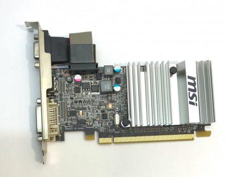 MSI Radeon HD5450 LP 1Gb használt videokártya GDDR3 64bit PCIe HDMI R5450-MD1GD3H/LP