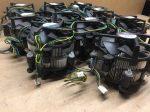 20db EGYBEN / Használt tesztelt Intel gyári ALU processzor hűtő LGA775