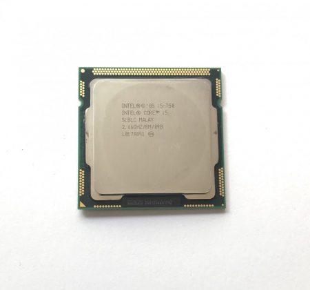 Intel Core i5-750 3,20Ghz használt QUAD processzor CPU LGA1156 SLBLC 8Mb cache 1. gen.
