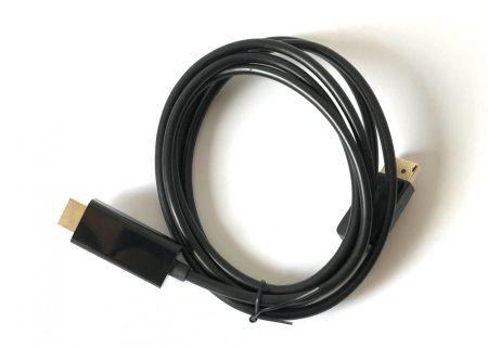 DP HDMI átalakító kábel 1,8m DisplayPort apa - HDMI apa