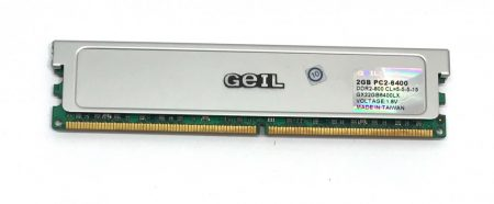 GEIL 2Gb DDR2 800MHz CL5DDR2 800Mhz memória Ram PC2-6400