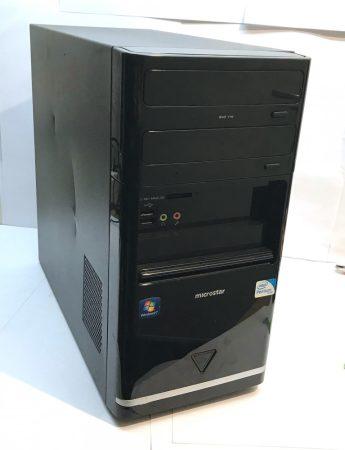 4 magos erős számítógép Core 2 Quad Q9400 4x2.66Ghz 4Gb 160Gb