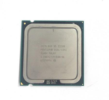 Intel Pentium Dual-Core E2200 2,20Ghz használt processzor CPU LGA775 800Mhz FSB 1Mb Cache SLA8X