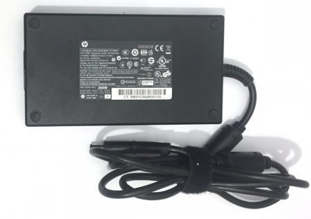 "HP 200W laptop töltő EREDETI 19,5V 10,3A 644698-003 HSTNN-DA24 17"" laptopokhoz"