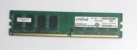 2Gb DDR2 667Mhz memória Ram PC2-5300 Full kompatibilitás