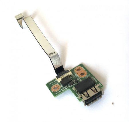 Hp Compaq G62 CQ62 USB csatlakozó panel + szalag kábel 01013JS00-575-G Presario