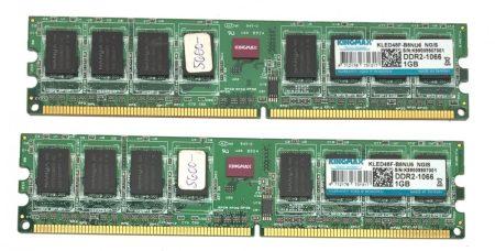 Kingmax 2Gb 2x1Gb DDR2 1066Mhz memória Ram PC2-8500