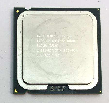 Intel Core 2 Quad Q9450 4 magos 2,66Ghz Processzor CPU LGA775 1333Mhz FSB 12Mb L2 SLAWR