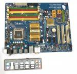Gigabyte GA-P35C-DS3R LGA775 használt alaplap DDR2 P35 4db PCI-e