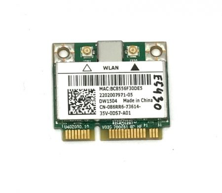 Broadcom BCM94313HMG2L 802.11b/g/n mini PCI-E wifi kártya WLAN adapter E5430