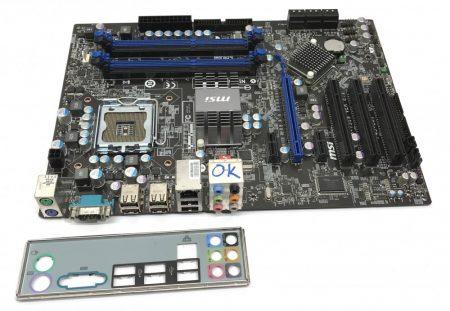 MSI P45-C51 LGA775 használt alaplap DDR3 P45 MS-7519