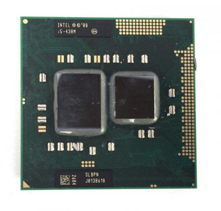 Intel Core i5-430M laptop CPU processzor 2.53Ghz G1 1. generáció SLBPN