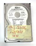 """WD 320Gb SATA HDD merevlemez 3,5"""" 7200rpm használt 100/100"""