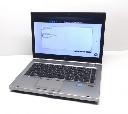 "HP EliteBook 8460p használt laptop 14"" Core i5-2520M 3,20Ghz 8Gb DDR3 120Gb SSD webkamera"