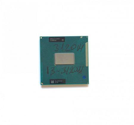 Intel Core i3-3120M használt laptop CPU processzor 2,50Ghz G2 3. gen. 3Mb Cache SR0TX