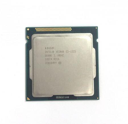 Intel Xeon E3-1225 3,4Ghz Quad CPU processzor LGA1155 SR00G