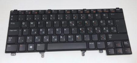 DELL LATITUDE E6420 E6430 E6320 E5420 E5430 E6220 E6230 gyári MAGYAR használt laptop billentyűzet VILÁGÍTÓS backlit