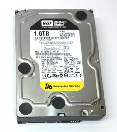 """Western Digital 1000Gb 1TB SATA HDD merevlemez 3,5"""" 7200rpm használt 100/100"""