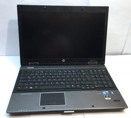"""Hp EliteBook 8540w használt laptop 15,6"""" i7-820QM FULL HD 8Gb 120Gb SSD szép állapot"""