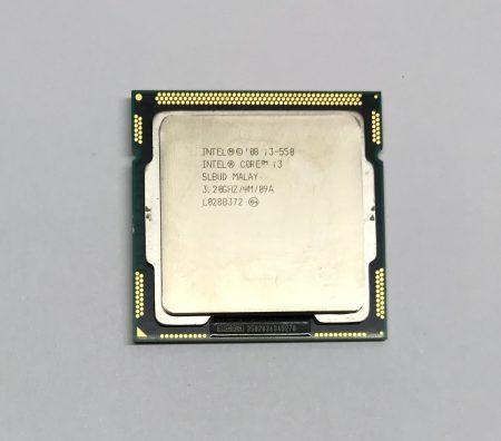Intel Core i3-550 3,20Ghz használt processzor CPU LGA1156 4Mb cache 1. gen. SLBUD